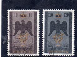 LIECHTENSTEIN 1956 O - Liechtenstein