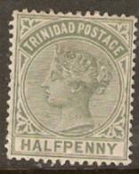 Trinidad 1883 SG 106 1/2d Mounted Mint - Trinidad & Tobago (...-1961)