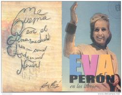 EVA PERON EN LA BIBLIOTECA NACIONAL - AGOSTO 2013 E INFORMACION DE EVENTOS DE ESA INSTITUCION 20 PAGINAS - Argentina