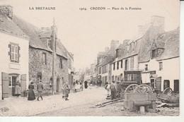 Crozon-Place De La Fontaine-La Bretagne. - Crozon