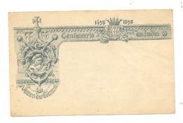 Portugal - , Entier Postal 1898 - Belle Lythographie Centenario Da India - Centenaire De L'Inde (b212) - Madeira