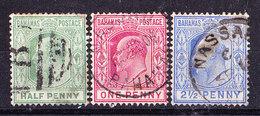 Bahamas 1906-Edoardo VII-usati - Bahamas (...-1973)