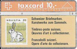 Switzerland: Schweizer Briefmarken - Kunstwerke Zum Sammeln, Hase - Timbres & Monnaies