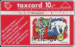 Switzerland: Briefmarken - Zirkus, Rolf Knie - Briefmarken & Münzen