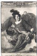 POSTAL   - MUSEO DE ARTE DE BARCELONA -RETRATO DE JEAN CLAUDE RICHARD -ABBÉ DE SAINT NO NON(JEAN HONORÉ FRAGENORD) - Museos