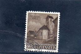 LIECHTENSTEIN 1958 O - Liechtenstein
