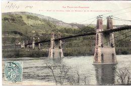 Pont Du Coudol, Près De MOISSAC Et SAINT NICOLAS DE LA GRAVE (Pont Suspendu) (98499) - France