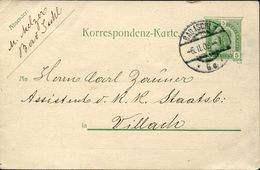 24247 Austria, Stationery Card  5h. From Bad Ischl To Villach - Stamped Stationery