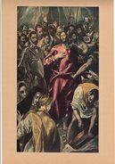 """Reproduction Ancienne """"L'arrestation Du Christ"""" De GRECO  Ft 15 X 26,5 Cm - Estampes & Gravures"""