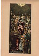 """Reproduction Ancienne """"Apparition Du Saint-Esprit"""" De GRECO  Ft 11,5 X 26 Cm - Prints & Engravings"""