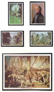 St Christopher / Nevis / Anguilla - XX - London 1980 - Lord Nelson - Michel 392/395 + Bl 8 - Cote 5.40 - Expositions Philatéliques