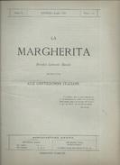 LA MARGHERITA  PERIODICO LETTERARIO MENSILE  ALLE GENTILDONNE ITALIANE   LIVORNO LUGLIO 1880 - Society, Politics & Economy