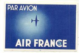 AIR FRANCE - Étiquettes à Bagages