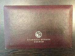 EMPTY  TOBACCO  BOX    Tvornica Duhana Zagreb  24 X 15 Cm - Boites à Tabac Vides