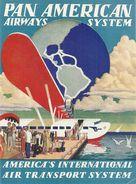PAN AMERICAN AIRWAYS - Étiquettes à Bagages