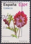 Spagna, 2008 - 60c Dahlia - Nr.3590 Usato° - Flora