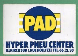 PAD HYPER PNEU CENTER ILLKIRCH  / AUTOCOLLANT - Autocollants