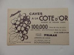 Buvard à La Cave Côte D'Or. 100.000 Litres De Vins De Table. - Agriculture