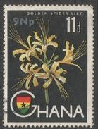 Ghana. 1965 New Currency O/P. 9np On 11d Used. SG 448 - Ghana (1957-...)