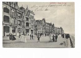 OSTENDE - DIGUE DE MER - VIAGGIATA 1911 FP - Oostende