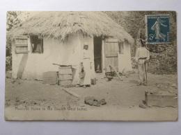 CPA - Amérique - Antilles - Iles Vierges - Peasants Home In The Danish West Indles - Vierges (Iles), Amér.