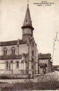 CPA - LISSE-en-CHAMPAGNE (51) - Aspect Du Quartier De L'Eglise Et De La Mairie En 1940 - Autres Communes