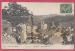 42 - ROCHETAILLEE---Environs De St Etienne---troupeau De Mouton-- Animé - Rochetaillee