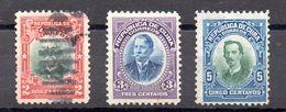 CUBA.  AÑO 1910.  Ed 182/184 (MH/USED) - Unused Stamps