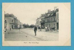 CPA Rue Victor Hugo DOYET 33 - Otros Municipios