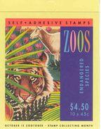AUSTRALIA 1994, Booklet 86, Zoos, Endangered Animals - Booklets