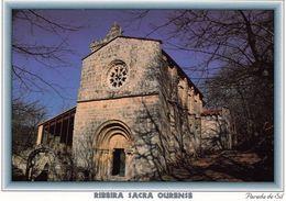 1 AK Spanien * Die Romanische Kirche Im Kloster Santa Cristina In Ourense - Erbaut Ab Ende Des 12. Jahrhunderts * - Orense