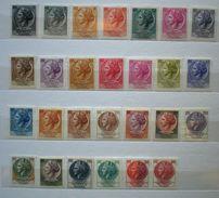 """001 - ITALIA REPUBBLICA - 1955/1968 """" ITALIA TURRITA Lotto Misto Di Varie Serie Fil. Stelle """" MNH Gomma Perfetta - 1961-70:  Nuovi"""
