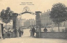 Guerre 1914-1915 - Baccarat: Caserne Haxo - Carte Non Circulée - Caserme
