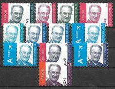 """Roi Albert II. Type """" MVTM"""", Valeurs En Euro. Vendus à La Valeur Faciale. - 1993-.. MVTM"""