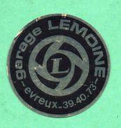 GARAGE LEMOINE EVREUX  / AUTOCOLLANT - Autocollants