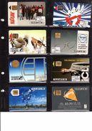 Lot De 44 Télécartes De France Et étrangers Avec Classeur - Unclassified