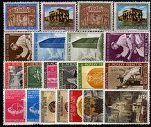 VATIKAN 1961-1970 - 5 Komplette Sätze Feinst ** / MNH - Vatikan