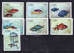 CUBA.  AÑO 1969.  Ed 1654/1660 (MH) - Cuba