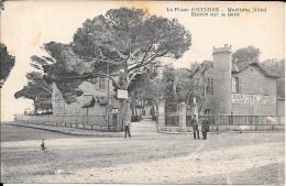 83 - La Plage D'HYERES - Maritime Hôtel - Entrée Sur La Gare - Hyeres
