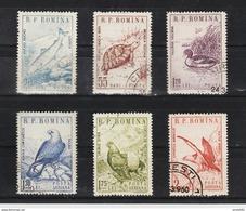 1960 -  Faune Roumaine Y&T 1670/1672+P.A. Et Mi No 1833/1838 - 1948-.... Republics
