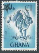 Ghana. 1983 Surcharges. 1c On 20np Used. SG 1031a - Ghana (1957-...)