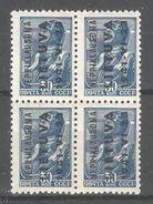 """Lithuania """"Nepriklausoma"""" 1941 German Occupation On Soviet 30 Kop Block Mi 6,VF MNH**OG - Occupation 1938-45"""
