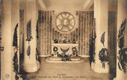 En Champagne, Ferme De Navarin, Monument Aux Morts Des Armées - La Crypte - Carte Non Circulée - Oorlogsmonumenten