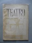 Teatro Mensile Dello Spettacolo E Delle Arti N.1 Febbraio 1946 Argan Mafai - Libri, Riviste, Fumetti