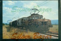 TRENI- FERROVIA TRENI.PERUGIA-SAN SEPOLCRO - LOCOMOTORE L 152 - Eisenbahnen