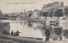 Nantes 44 - Quai De Versailles Et Pont Morand - Lavoirs - Nantes