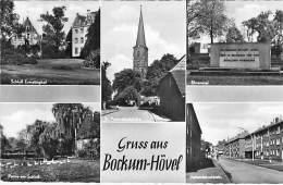 DEUTSCHLAND Allemagne Germany  ( Hamm ) BOCKUM HÖVEL : Multi-View - CPSM PF - Hamm