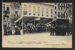 ANTWERPEN - 21 Juli 1908 Vaderlandsfeest - De Tribuun Der Overheden - 30 - Antwerpen