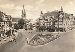 ALLEMAGNE - ERFURT - CPSM : Blick Zum HO-Warenhaus - Erfurt
