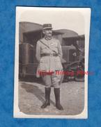 Photo Ancienne - Lieu à Situer - Portrait D'un Officier Devant Un Camion Panhard Levassor ? - Gazogène ? - War, Military